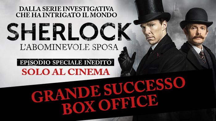 Grande successo di Sherlock al Box Office