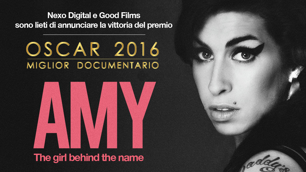 Amy vince l'Oscar come miglior documentario