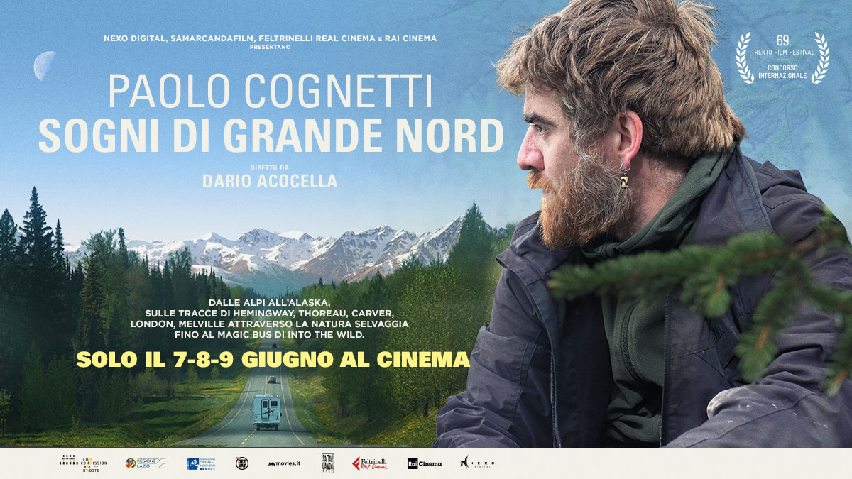 Paolo Cognetti – Sogni di Grande Nord   Nexo Digital. The Next Cinema  Experience